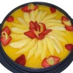 Recette bavarois mangue sans gluten