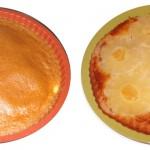 Gâteau à l'ananas renversé sans gluten