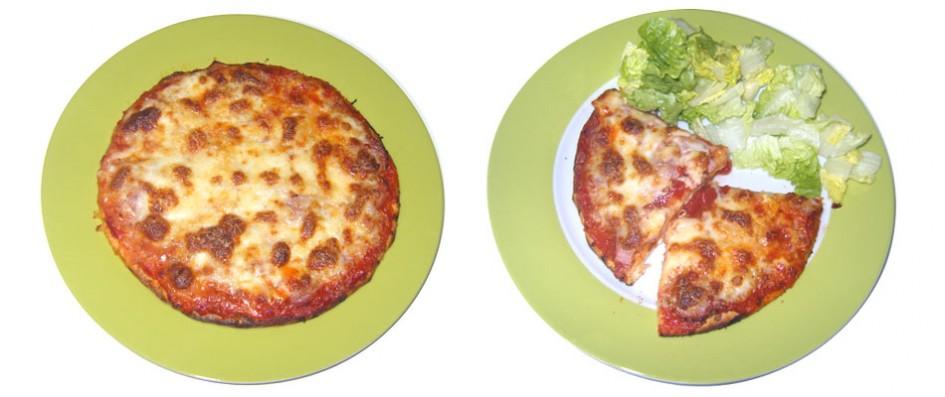 pizza jambon fromage sans gluten